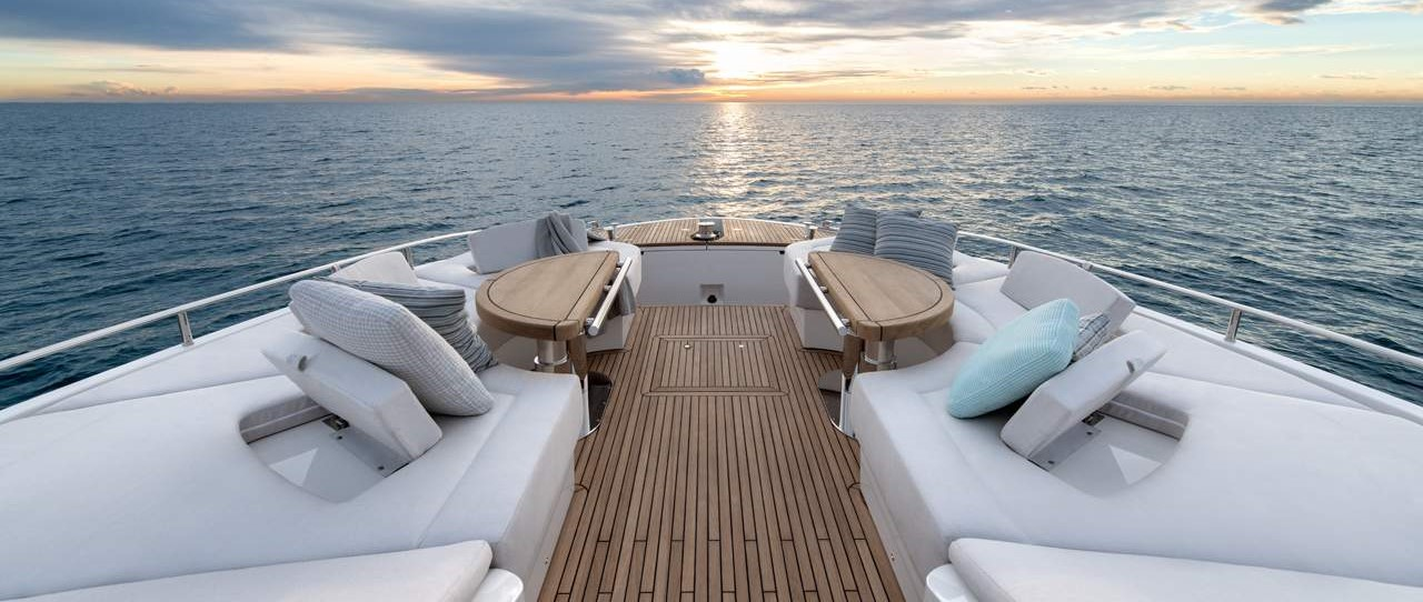 MCY 70 Best Flybridge and Spacious Bow