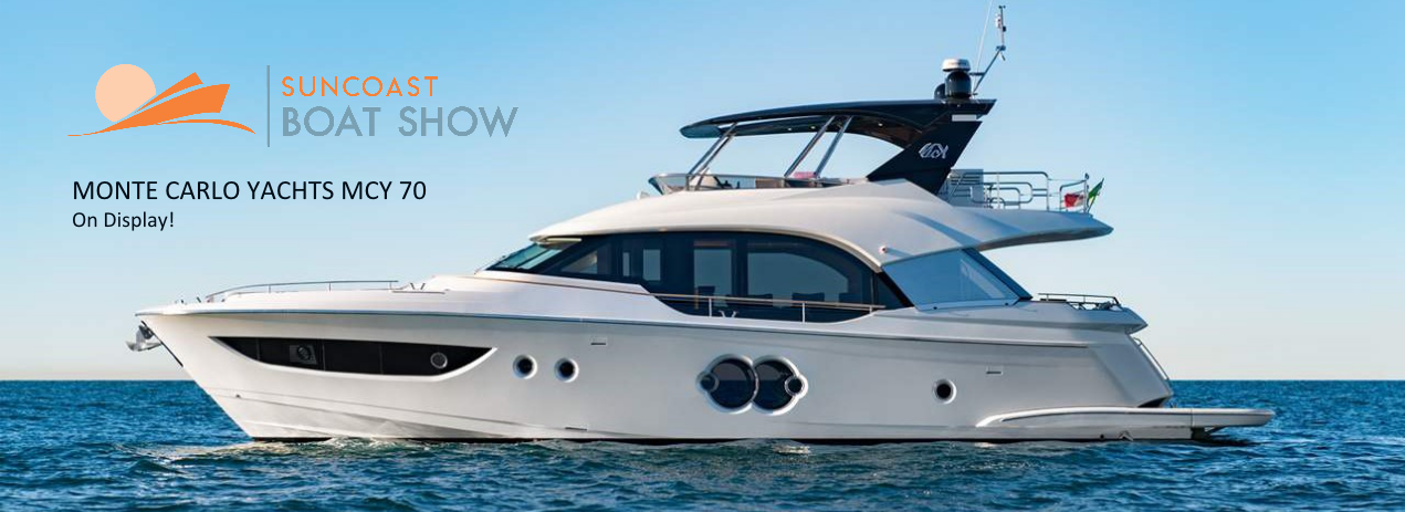 MCY at the Suncoast Boat Show 2019