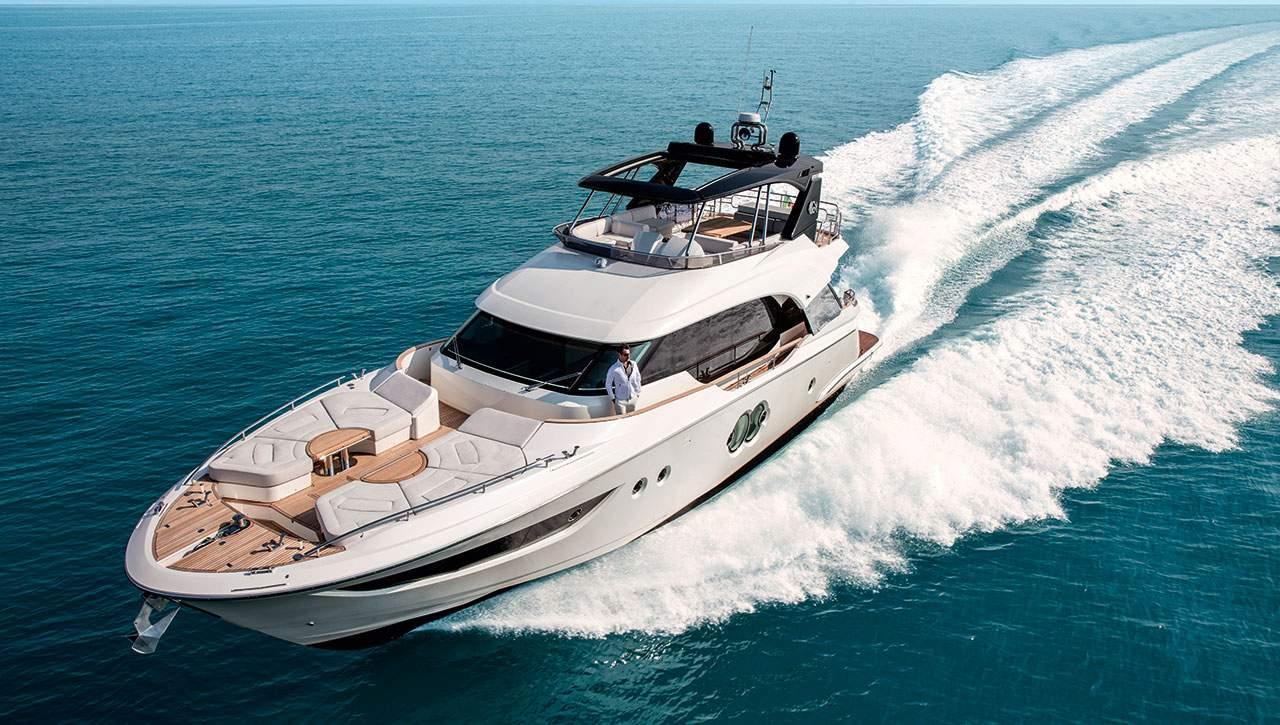 Monte Carlo Yachts MCY 70 running shot