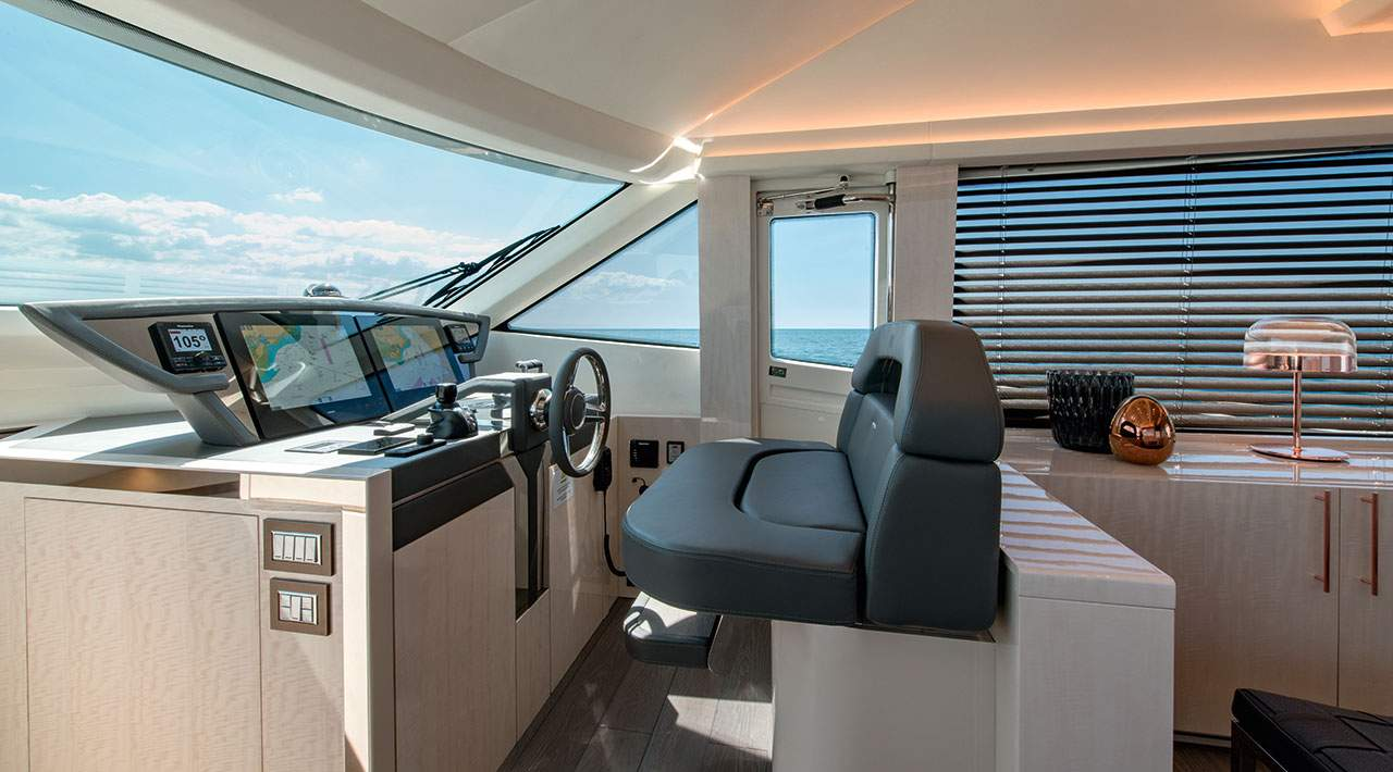 Monte Carlo Yachts MCY 66 helm