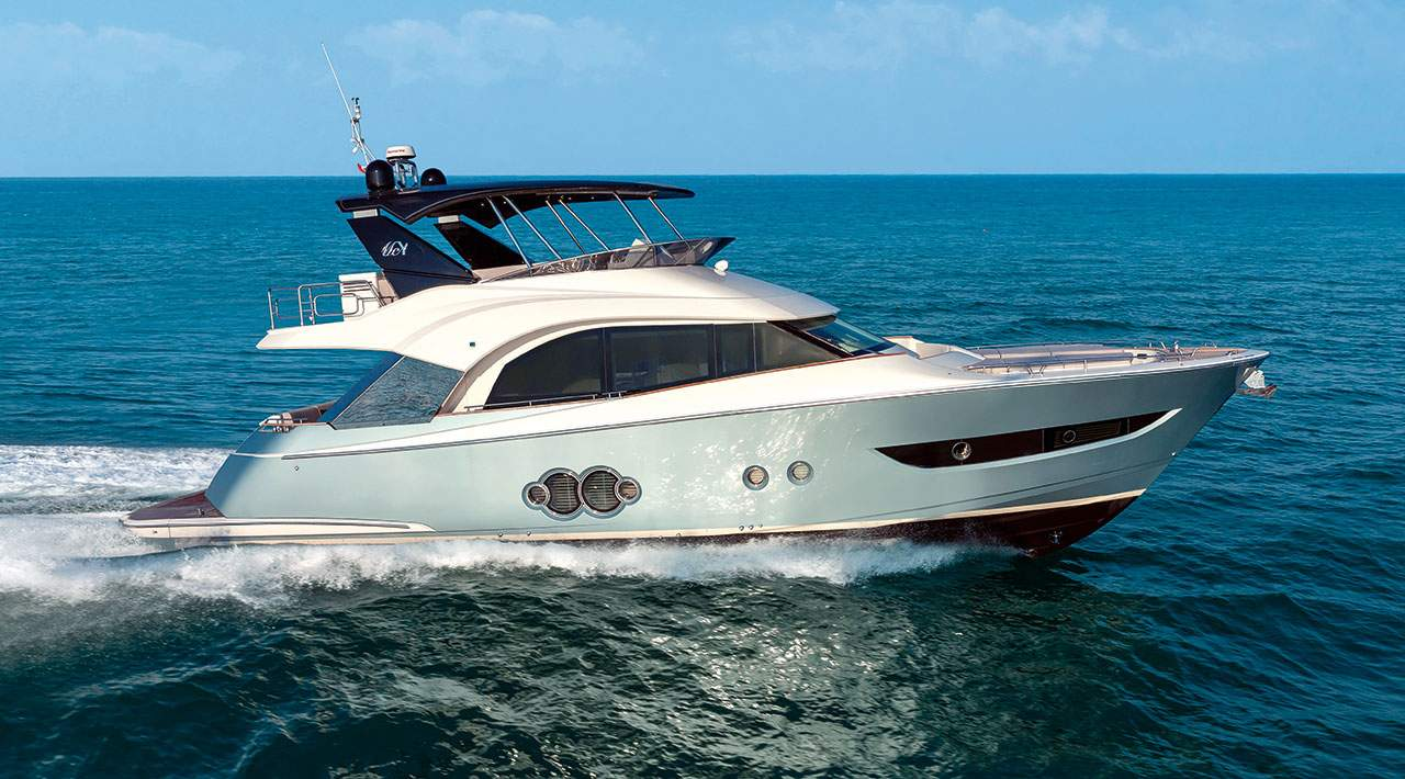 Monte Carlo Yachts MCY 66 running