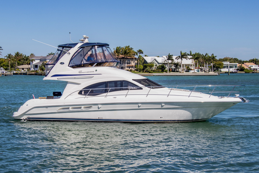 2005 45' Sea Ray 420 Sedan Bridge for sale