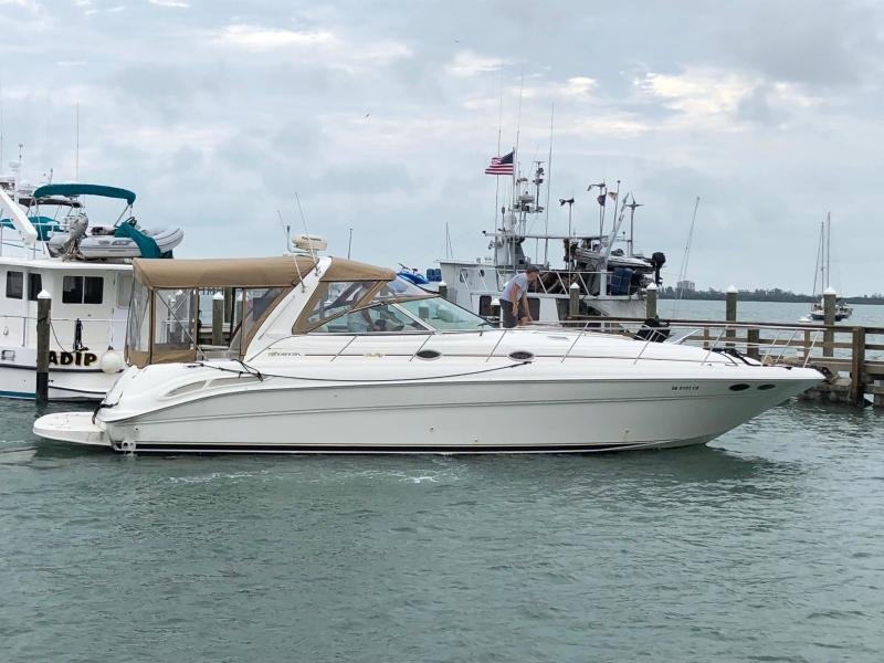 9 - 2001 Sea Ray 410 Sundancer for sale