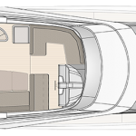 MCY 66 Layout - Flybridge