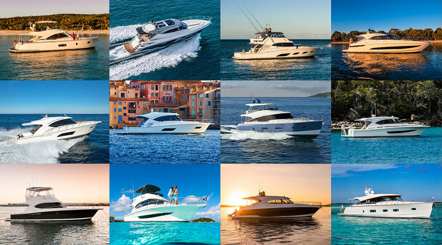 Riviera Yachts at the 2019 Fort Lauderdale Boat Show